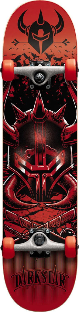 Darkstar Swarm Complete Skateboard - 7.7 - Red