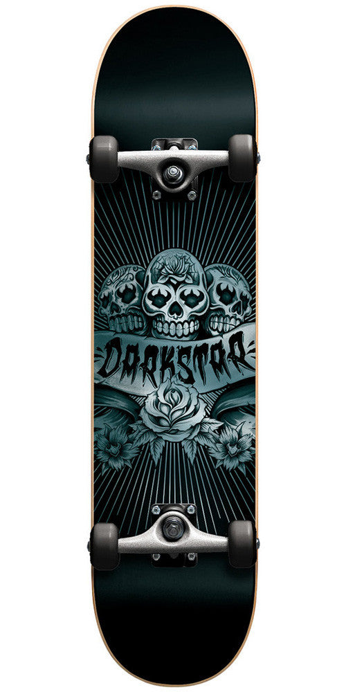 Darkstar Skully FP Complete Skateboard - 8.1 - Blue