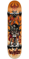 Darkstar Grime FP - Orange - 7.6 - Complete Skateboard