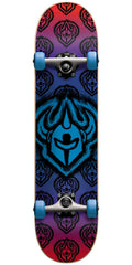 Darkstar Brush FP Youth - Blue - 6.75 - Complete Skateboard