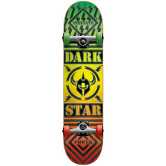 Darkstar Blunt FP Complete Skateboard - Rasta/Glow In The Dark - 7.75in x 31.2in