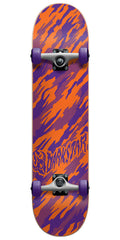 Darkstar Camo Complete Skateboard - Orange/Purple - 7.0