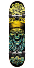 Darkstar Bandito FP Complete Skateboard - Yellow/Blue - 8.0