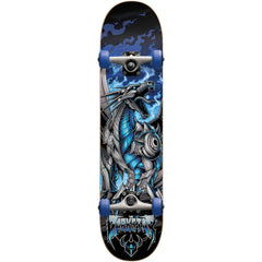Darkstar Dragon Micro Complete Skateboard - Blue - 6.75