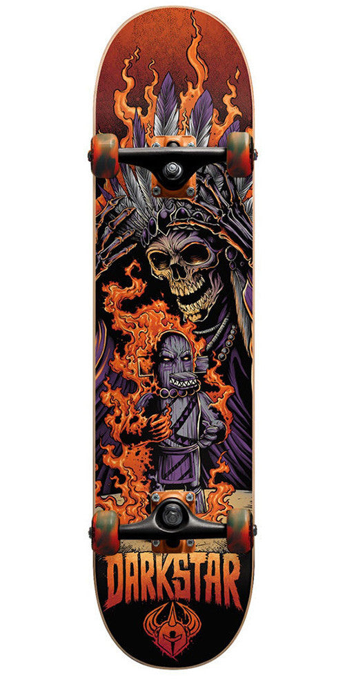 Darkstar Torch FP Complete Skateboard - Orange - 8.0in