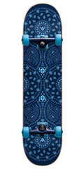 Darkstar Bandana Youth Complete Skateboard - Blue - 7.0in