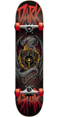 Darkstar Abyss FP Complete Skateboard - Red - 8.0in