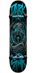 Darkstar Abyss Youth Complete Skateboard - Aqua - 7.375in