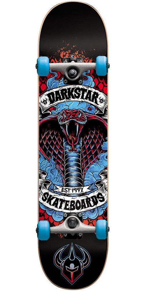 Darkstar Python Youth Complete Skateboard - Blue - 7.25in