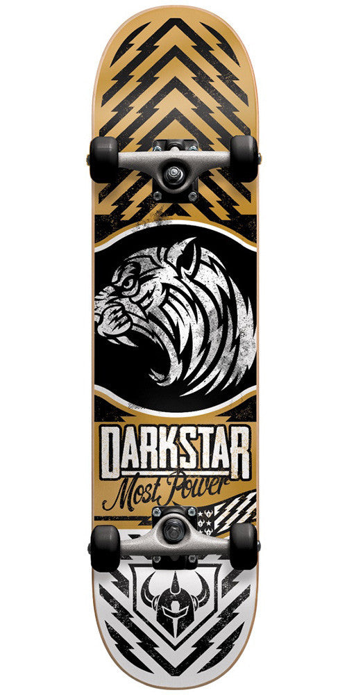 Darkstar Lion FP Complete Skateboard - Gold - 7.625in