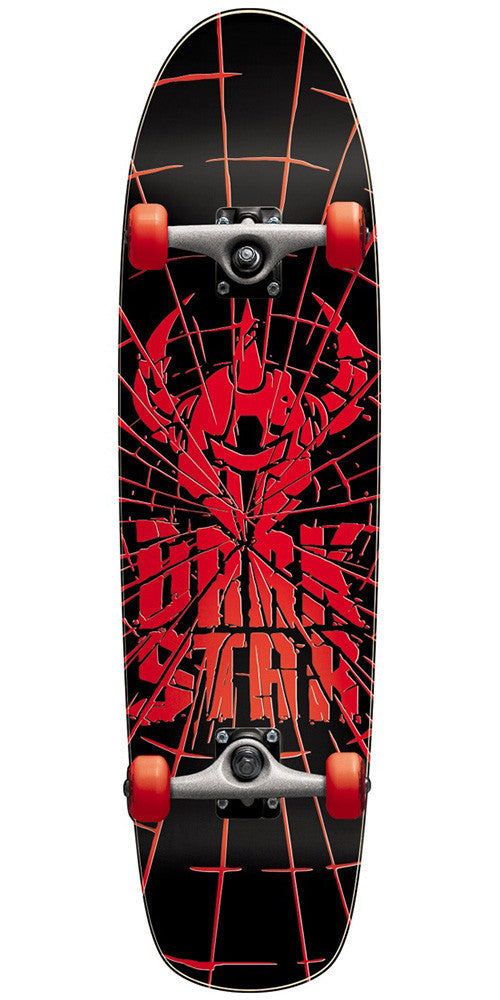 Darkstar Shatter Youth Complete Skateboard - Red - 7.5in