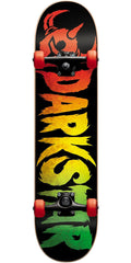 Darkstar Ultimate Complete Skateboard- Rasta - 7.625in