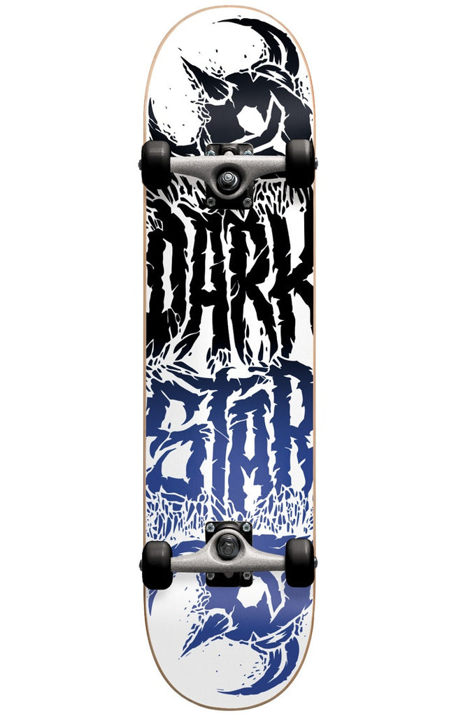 Darkstar Reverse FP Complete Skateboard - Black/Blue - 7.875in