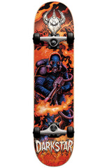 Darkstar Fire FP Complete Skateboard - Red - 7.75in