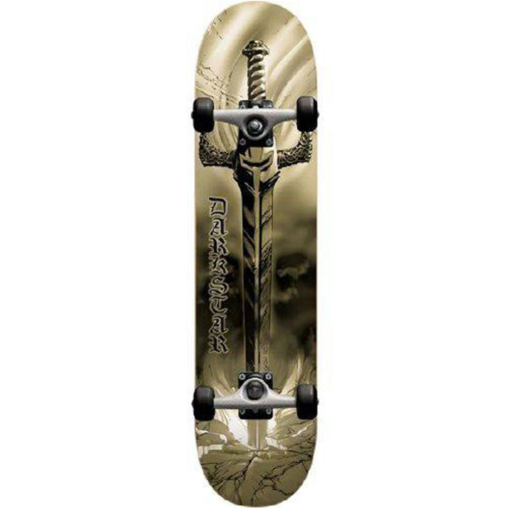 Darkstar Sword FP Complete Skateboard - Gold - 7.7in