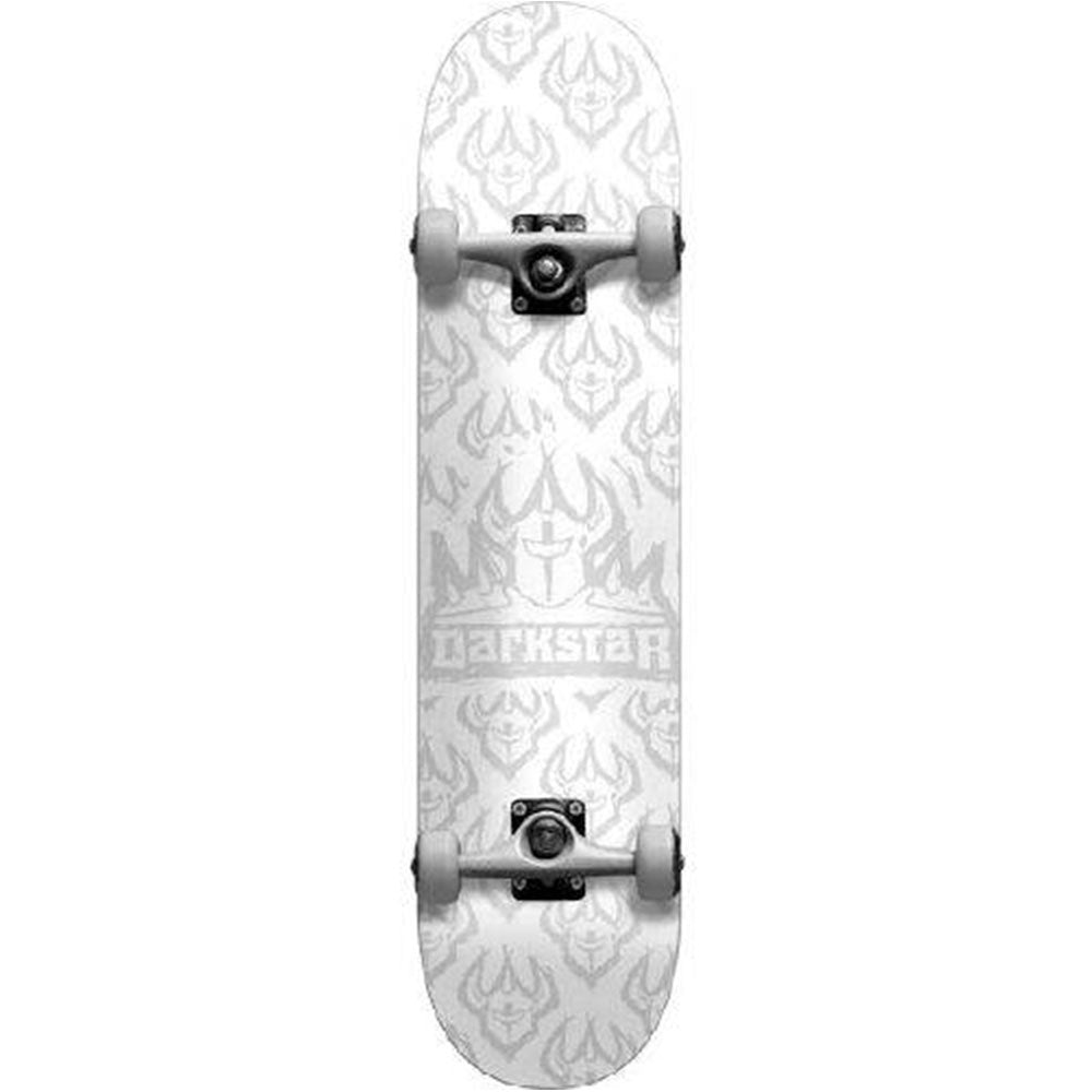 Darkstar Etch Youth FP Complete Skateboard - White - 7.0in