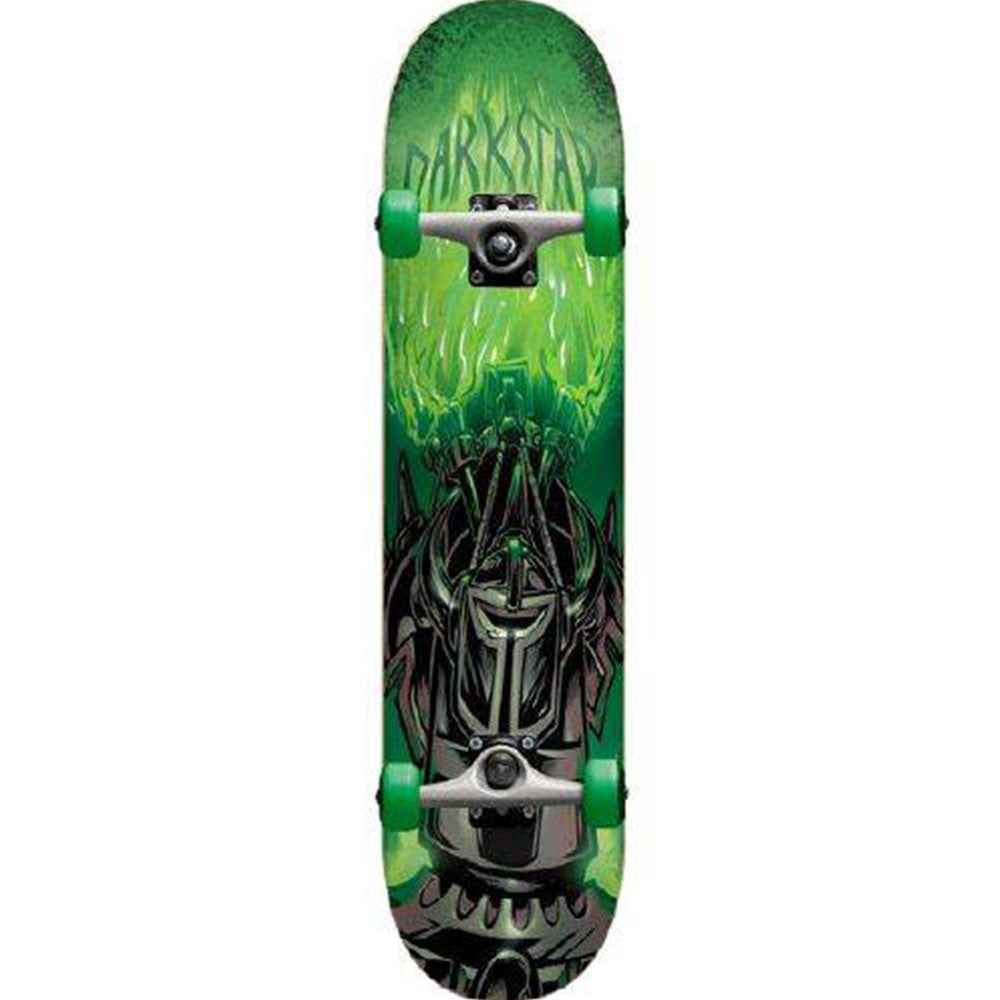 Darkstar Dungeon FP Complete Skateboard - Green - 7.5in