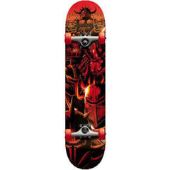 Darkstar Warheads Youth FP Complete Skateboard - Red - 6.75in