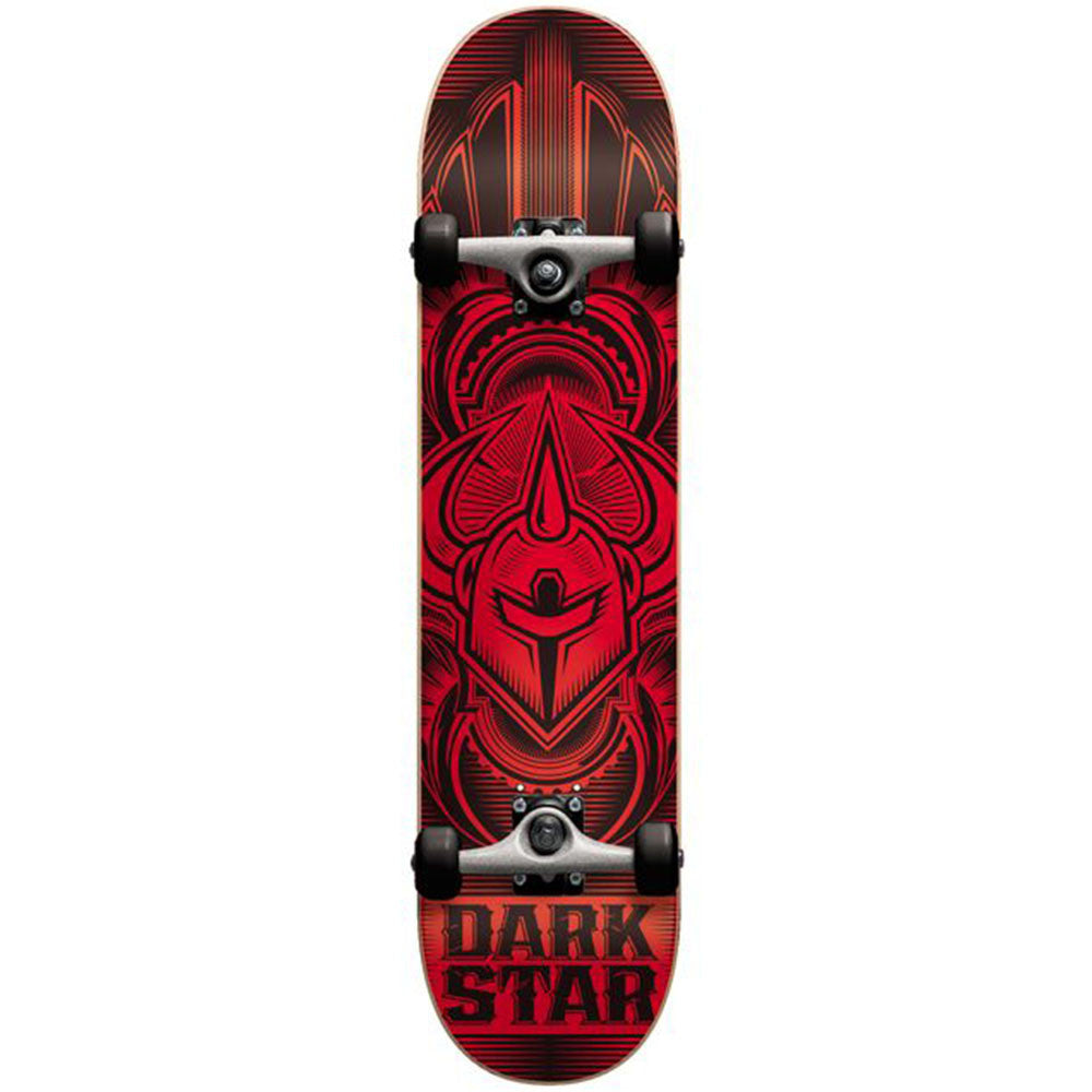 Darkstar Scour FP Complete Skateboard - Red - 7.7in