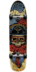 Darkstar Harley Davidson Legend Complete Skateboard - Black - 7.75in