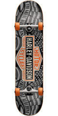 Darkstar Harley Davidson Freedom Complete Skateboard - Black - 7.25in