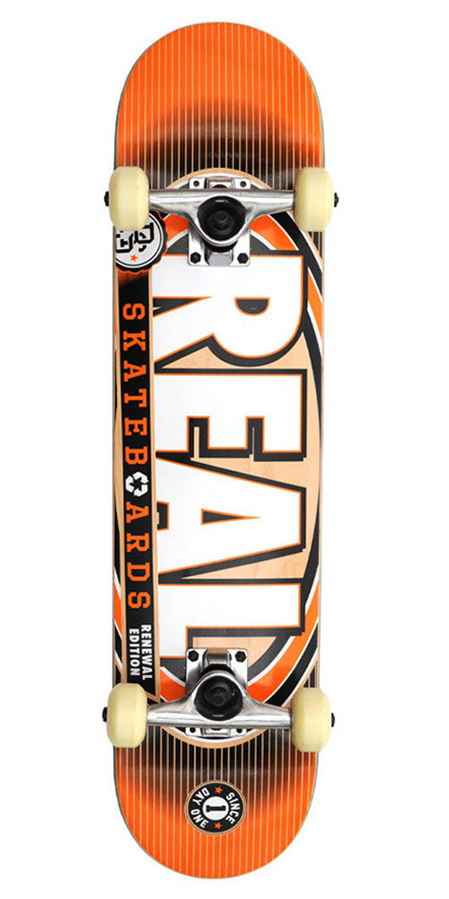 Real Renewal 4 PP Mini Complete Skateboard - 7.2 - Orange