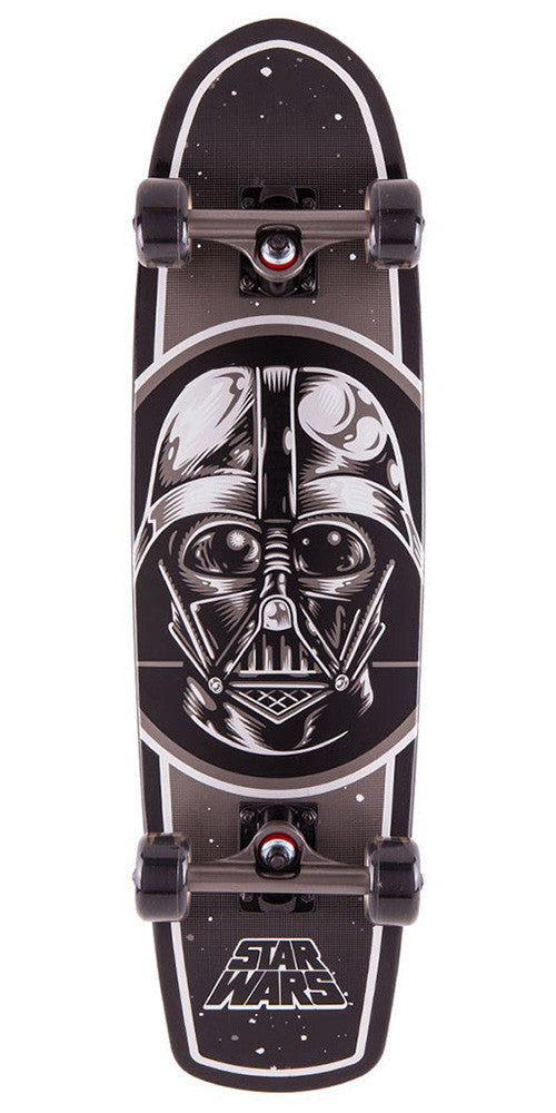 Santa Cruz Star Wars Darth Vader Jammer Cruzer - Black - 8.2in x 30.7in - Complete Skateboard