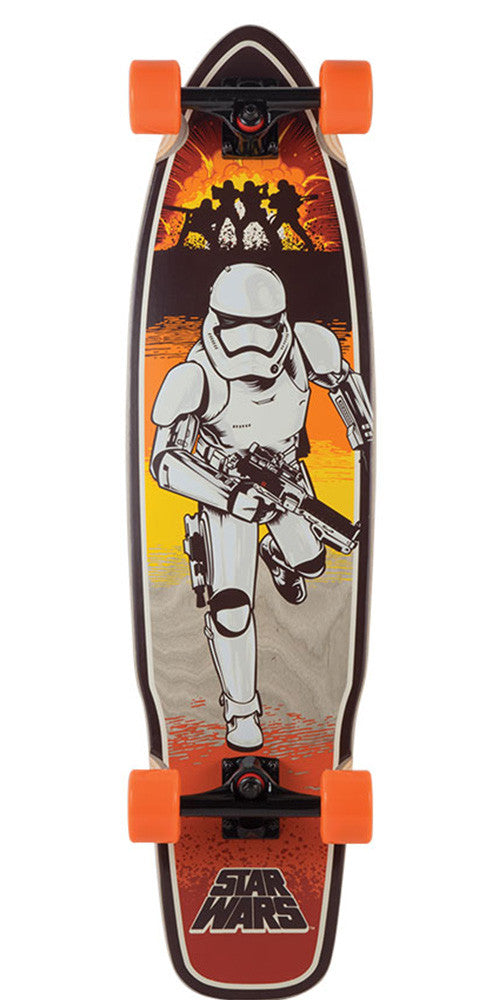 Santa Cruz Star Wars Episode VII Stormtrooper Cruzer Complete Skateboard - Multi - 9.3in x 36.0in