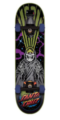 Santa Cruz Armageddon Regular Sk8 Complete Skateboard - Black - 7.9in x 31.7in