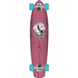 Globe Sultans of Surf PT Cruiser Complete Skateboard - 8.5 x 36 - Pink