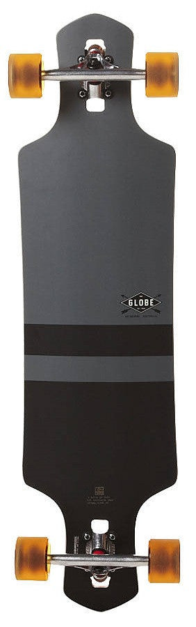 Globe Geminon Complete Skateboard - 38.5 - Charcoal/Black