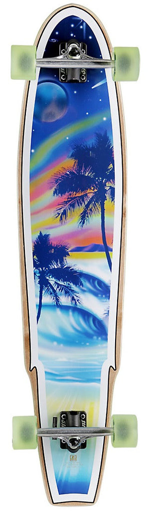 Globe Fantasea Complete Skateboard - 9.5 x 43 - Night