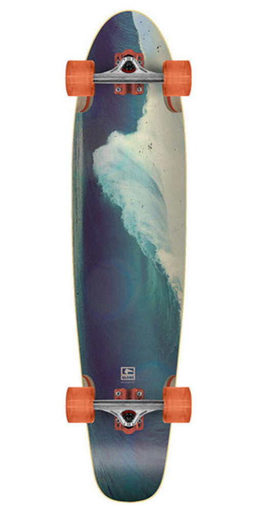 Globe New Atlantique Complete Skateboard - 41.0in - Fluorescent Orange