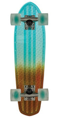 Globe Bantam Clears Complete Skateboard - 24.0in - Light Blue/Amber Fade