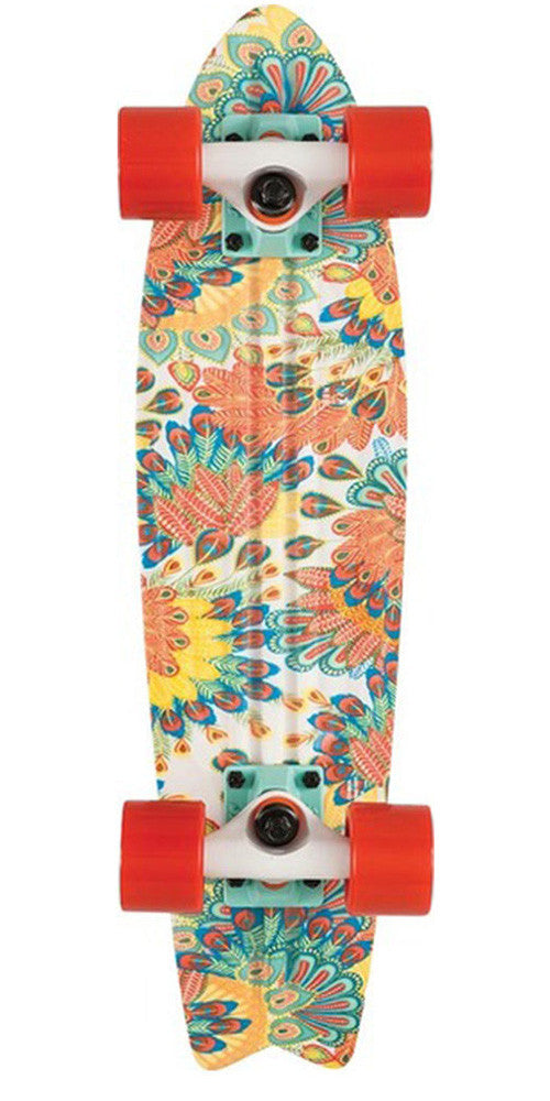 Globe Bantam Graphics ST Complete Skateboard - 23.0in - Peacock