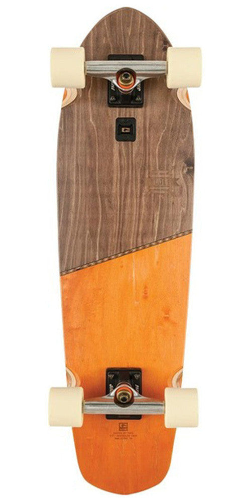 Globe Big Blazer Complete Skateboard - 32.0in - Brown/Orange
