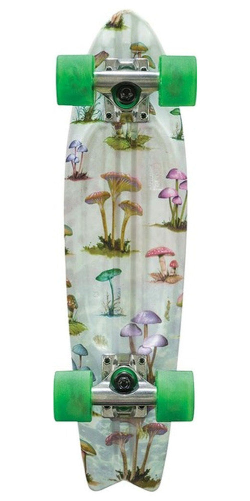 Globe Bantam Graphic ST Complete Skateboard - Mushroom Hunt - 6in x 23in