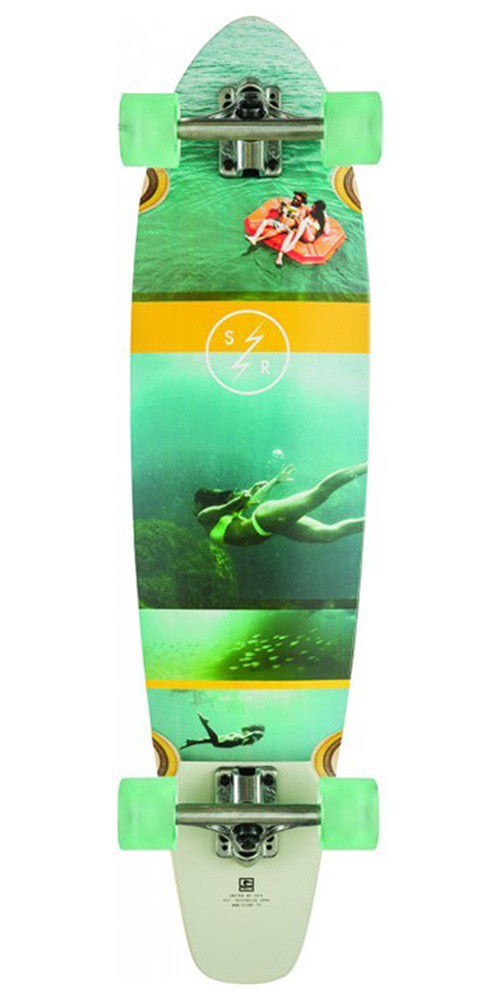 Globe Strange Rumblings Complete Skateboard - Clearwater - 9.0in x 35.75in