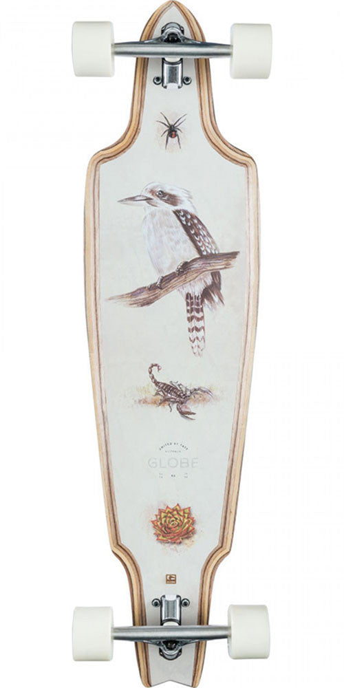 Globe Prowler Cruiser Complete Skateboard - Dark Maple/Outback - 10.0in x 38.0in