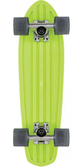 Globe Bantam Retro Rippers Mini Complete Skateboard - Lime/Raw/Black - 7.0in x 24in
