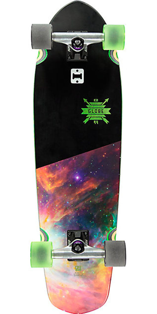 Globe Big Blazer Complete Skateboard - Darkside - 9.25in x 32.0in