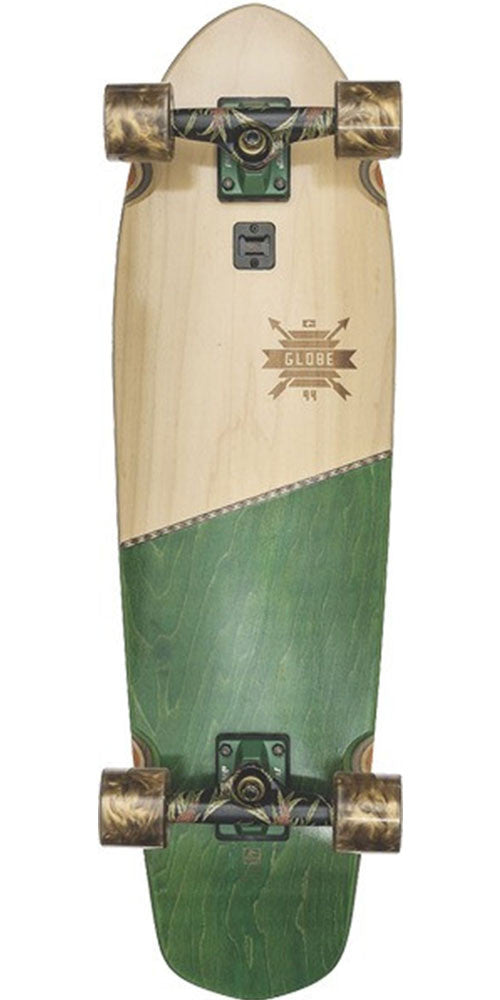 Globe Big Blazer Complete Skateboard - Green Thistle - 9.25in x 32.0in