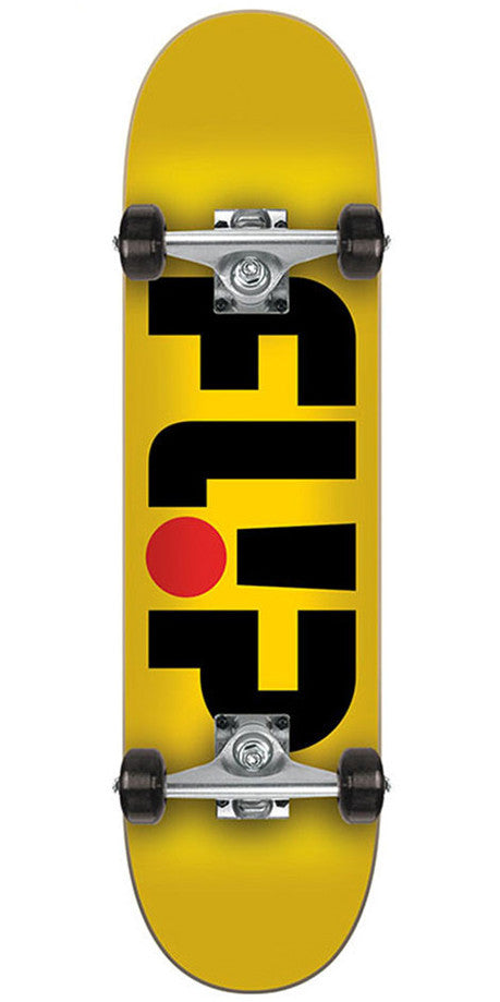 Flip Team Odyssey Mini Sk8 Complete Skateboard - 29.2in x 7.0in - Yellow