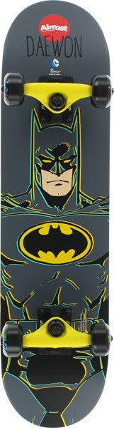 Almost Daewon Batman - Black - 7.0 - Complete Skateboard