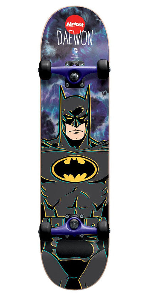 Almost Daewon Song Batman Mini Complete Skateboard - Tie Dye - 7.0in