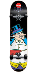 Almost Cooper Wilt Penguin Complete Skateboard - Black - 7.875in