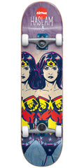 Almost Haslam Wonder Woman Fade Complete Skateboard - Purple/Blue - 7.875in