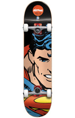 Almost Rodney Mullen Superman Split Face Complete Skateboard - Black - 8.0in