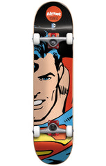 Almost Youness Amrani Superman Split Face Youth Mid Complete Skateboard - Black - 7.375in