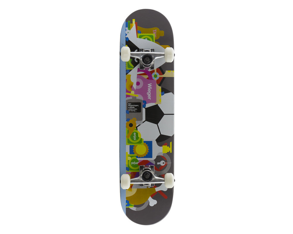 Enjoi Bless This Mess R7 Wieger Van Wageningen Complete Skateboard - 7.75 - Multi